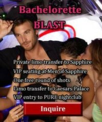 Las Vegas bachelorette party package - Blast