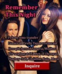 Las Vegas bachelorette party package Remember this night