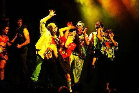 >Evil Dead The Musical Las Vegas