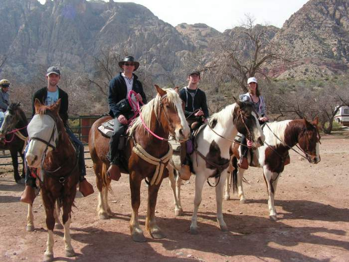 Las Vegas Horseback riding at Bonnie Springs Ranch in Red Rock Canyon