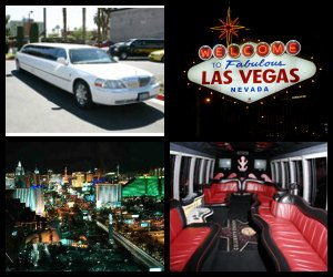 Las Vegas Limo Tours - Night Tour of the Strip
