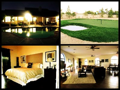 luxury homes Las Vegas - Spanish Mansion