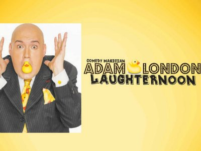 Laughternoon Starring Adam London in Downtown Las Vegas
