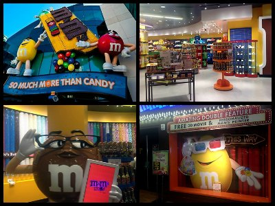 M&M's World in Las Vegas