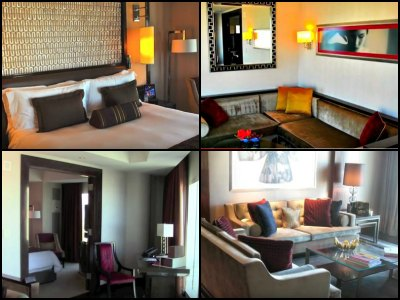 Rooms at Mandarin Oriental Hotel in Las Vegas