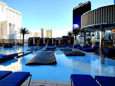 Las Vegas Marquee Day Club At Cosmopolitan Resort