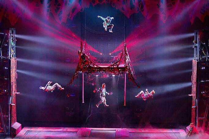 Michael Jackson One by Cirque du Soleil Show Las Vegas