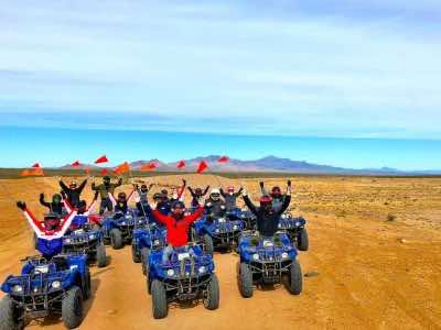 Mojave Desert and lunch ATV tour in Las Vegas