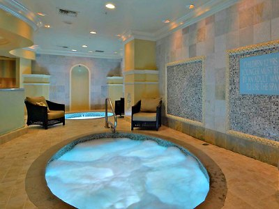 Spa at Monte Carlo Hotel in Las Vegas