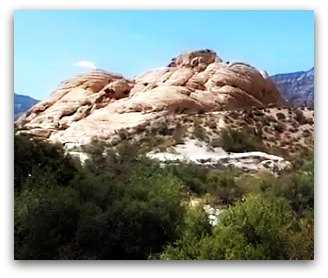 Mountain at Red Rock Canyon near Las Vegas