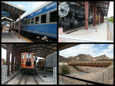 Nevada State Railroad Museum in Las Vegas