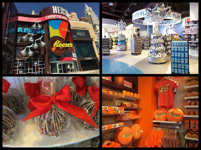 Hershey's Chocolate World in New York New York Hotel in Las Vegas