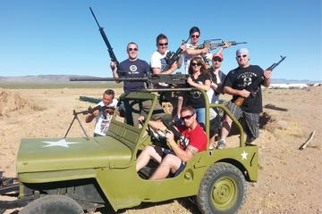 Outdoor Shooting Range Package from Las Vegas with Optional ATV and Doors-off Helicopter Tour in Las Vegas