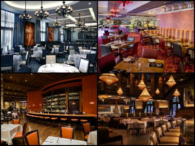 Restaurants at the Palazzo Hotel in Las Vegas