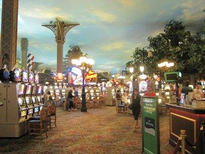 Casino at the Paris Hotel in Las Vegas