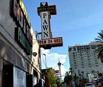 sign of the Pawn Shop in Las Vegas