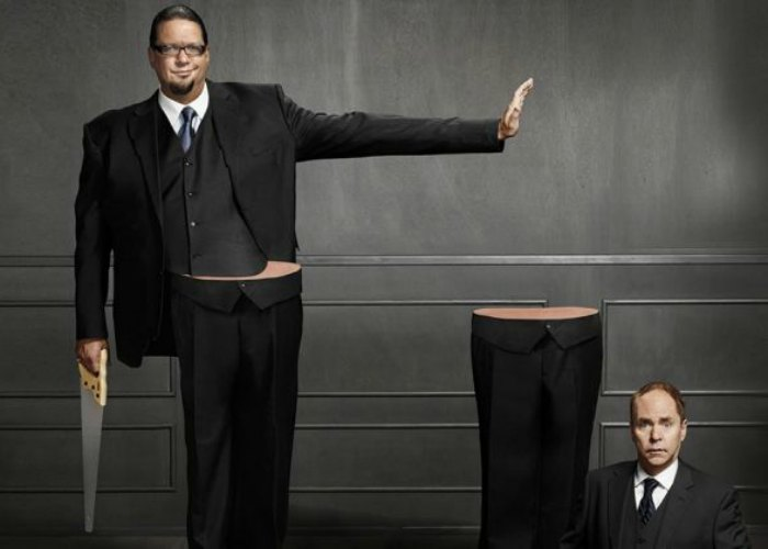 Penn and Teller in Las Vegas