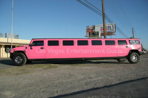 Pink Hummer limo Las Vegas