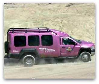Death Valley Pink Jeeps tour