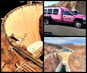 Pink Jeep tours Las Vegas Hoover Dam