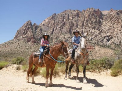 Red Rock Canyon horseback Riding tour