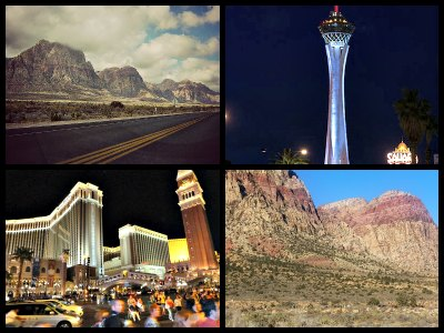 Las Vegas Strip and Red Rock Canyon sightseeing tour