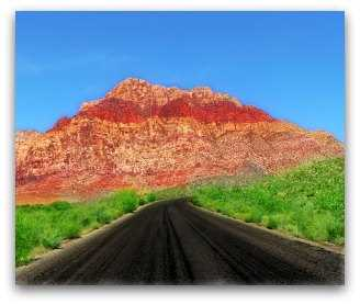 Red Rock canyon near Las Vegas