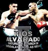 Rios vs. Alvarado - Photo by Mandalay Bay
