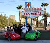 Scooter Car Tour of Downtown Las Vegas