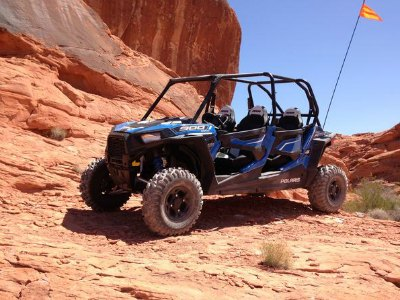 Self-Guided Polaris RZR UTV of Valley of Fire State Park