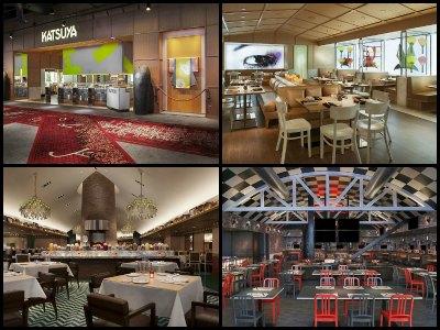 Restaurants at Sahara Hotel in Las Vegas