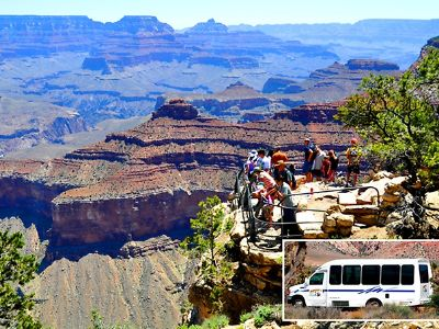 Grand Canyon bus tours to The South Rim and Hoover Dam