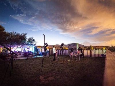 Star Gazing Tour at the Pioneer Saloon from Las Vegas in Las Vegas