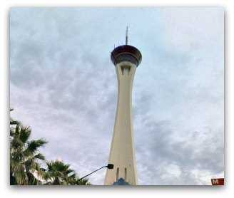 Stratosphere Tower Observation Deck in Las Vegas
