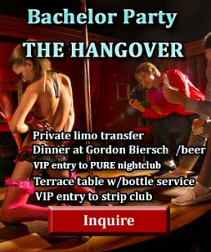 las vegas bachelor party packages - Hangover