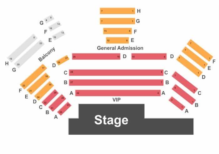 the Mentalist Las Vegas Seating Chart