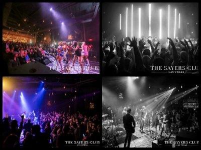 The Sayers Club nightclub Las Vegas