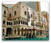 The Venetian hotel in Las Vegas