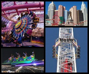 Theme parks in Las Vegas