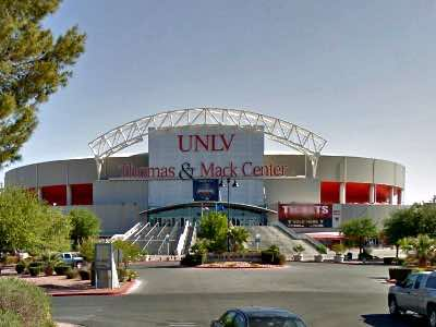 Thomas & Mack Center Las Vegas