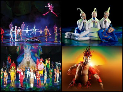 Mystere by Cirque du Soleil at Treasure Island Hotel in Las Vegas
