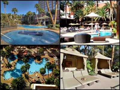 Pools at Treasure Island Hotel in Las Vegas