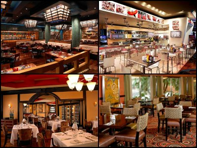 Restaurants at Treasure Island Hotel in Las Vegas