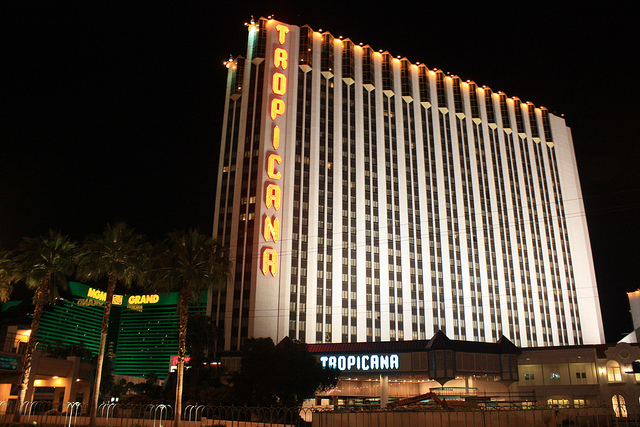 Tropicana hotel las vegas for Red motor lodge san francisco