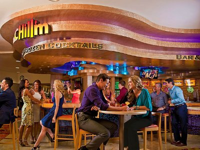 Nightlife at Tropicana Hotel in Las Vegas