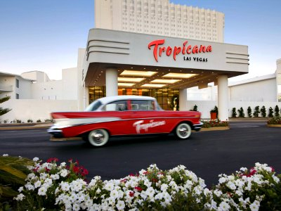 Shopping at Tropicana Hotel in Las Vegas