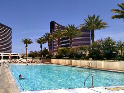 Pools at Trump International Hotel in Las Vegas
