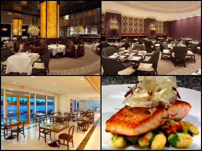 Restaurants at Trump International Hotel in Las Vegas