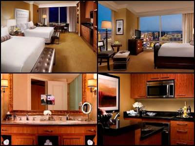 Rooms at Trump International Buffet in Las Vegas