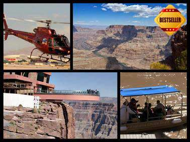 4 in 1 Grand Canyon tours helicopter